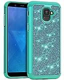 J&D Case Compatible for Galaxy A8 2018 Case, Sparkling
