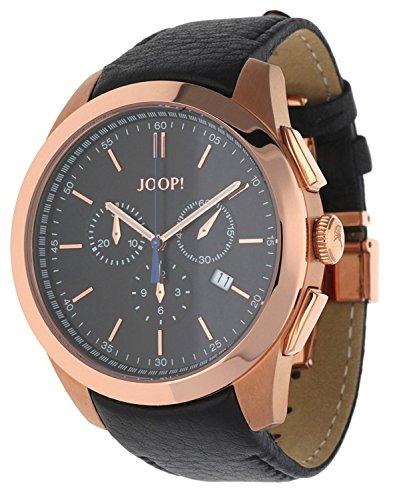 Joop! Herren Analog Quarz Uhr mit Leder Armband JP100711F01U
