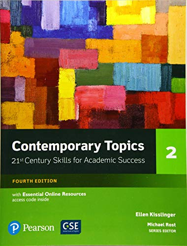 Contemporary Topics Level 2 (4E) Student Book with Essential Online Resource