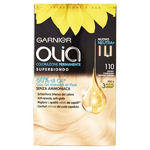 Garnier Olia Permanente Färbung superbiondo 110Blond klar Natur Intenso