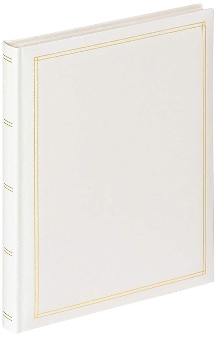 Walther Monza SK-124-W Self Adhesive Album White 26 x 30 cm, 30 White Pages