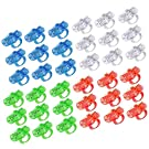 Syolee LED Finger Lights 36pcs Super Bright Finger Torches Flashlight Ideal for Toys Party Favor Supplies