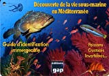 8 plaquettes immergeables découverte de la vie sous-marine en mediterranee