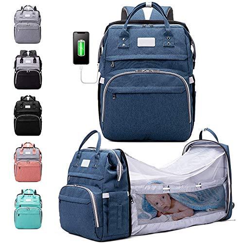 Diaper Bag Backpack, Baby Nappy Changing Bags Multifunction Waterproof...