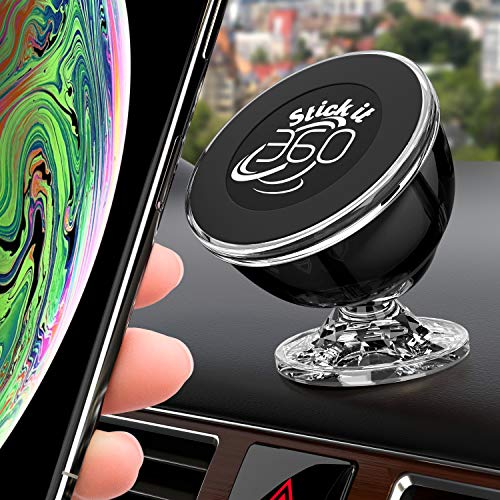 Universal Cell Phone Holder for Car, Magnetic Car Phone Mount 360 Rotation...