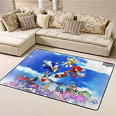 Nursery Rugs,Sonic for Living Room W59xL94.4 inch