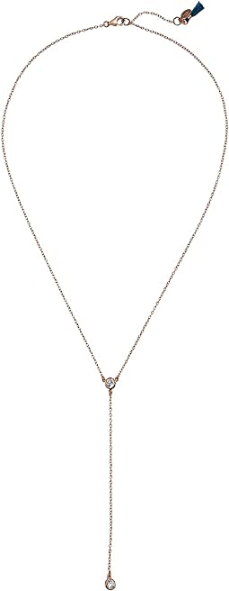 SHASHI - Solatiare Lariat Necklace