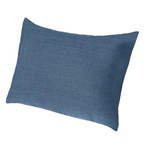 Salosan Extra großes Sofakissen Lounge- und Rückenkissen, Kopfkissen, Dekokissen. Größe ca. 60x80 cm. Farbe: (Blau)