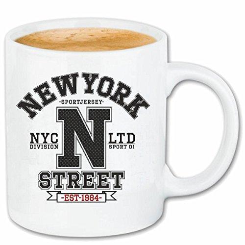 taza para café NEW YORK DIVISIÓN DE LA CALLE DE NEW YORK América California EE.UU. RUTA 66 CAMISA motorista de la motocicleta de NEW YORK NY LIBERTAD DE LOS ESTADOS UNIDOS DE BRONX BROOKLYN LOS ÁNGEL