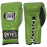 Cleto Reyes Lace Boxing Training Gloves, 12 oz., Green