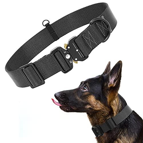 XIAOWU Nylon Hundehalsband mit Metallschnalle Weich Hunde Halsband für Welpen Kleine Mittlere Große Hunde