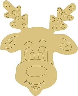Best reindeer wooden door hanger Reviews