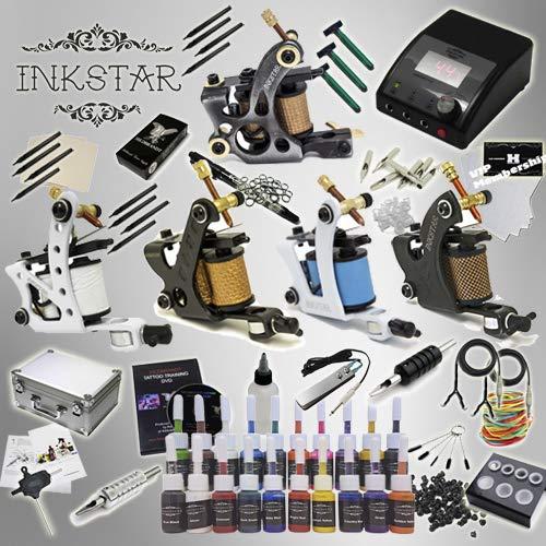 Complete Tattoo Kit Inkstar Ace Washington Mall C Supply Machine 5 20 Power Gun Max 71% OFF