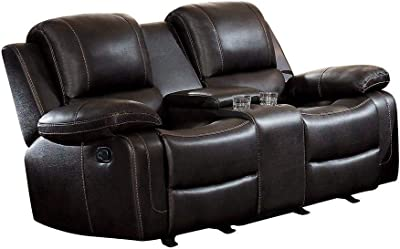 Awesome Amazon Com Delange Reclining Power Loveseat With Adjustable Ibusinesslaw Wood Chair Design Ideas Ibusinesslaworg