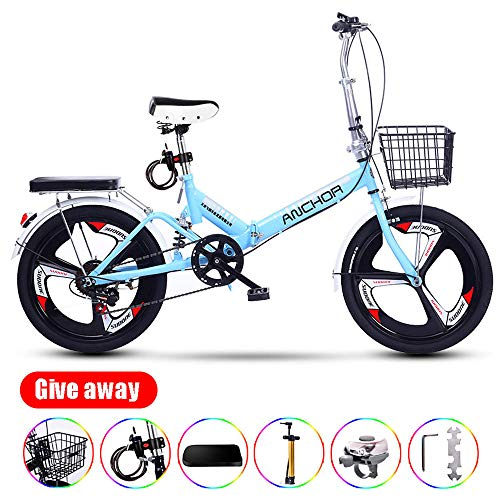 Check Out This TaoRan Bicycles, Folding Bicycles, 20 Inch Adult Student Bicycles with Variable Speed...