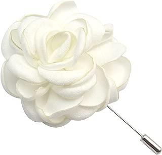 Men's Flower Badge Brooch Suit Handmade Corsage Pin Wedding Party Buckle