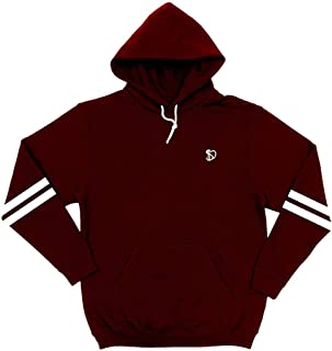 DURO threads Burgundy Cut & Sew Hoodie