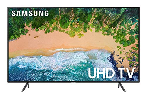 Samsung UN40NU7100FXZA / UN40NU6070FXZA Flat 40inch 4K UHD Smart LED TV (Renewed)