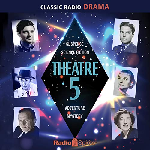 Theatre 5 audiobook cover art
