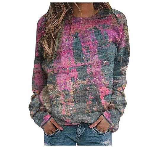 여성용 긴 소매 셔츠 여성 캐주얼 스웨터 긴 소매 오버사이즈 셔츠 투닉 탑 풀오버 블라우스