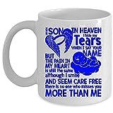 Nadie te extraña más que yo Taza de café, para mi hijo en el cielo escondo mis lágrimas cuando digo tu nombre