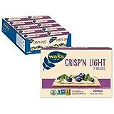 Wasa Crisp'n Light 7 Grain Cracker Bread, 4.9 Ounce (Pack of 10)