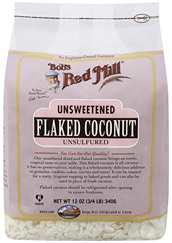 Bob's Red Mill, Unsweetened Flaked Coconut, 12 oz