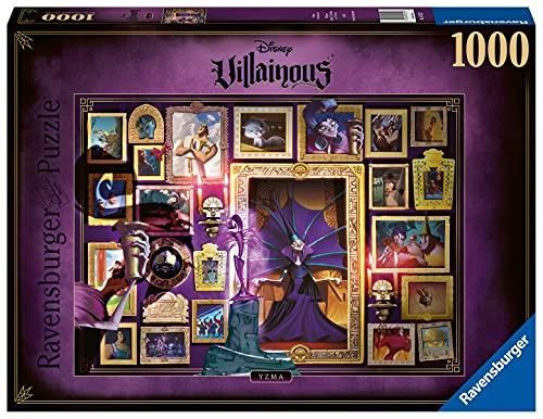 Ravensburger Puzzle 1000 Piezas, Villainous Dr. Facilier, Puzzle Disney, Rompecabezas Ravensburger de óptima calidad, Villanos Puzzle, Edad Recomendada 12+