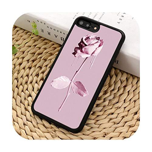 Suhoo - Custodia per iPhone 5s, 6s, 7, 8 Plus, XS, XS, XR 11, Pro, Max, Samsung Galaxy S7, S8, S9 S10, colore: Rosa