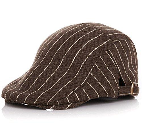 Kuyou Kuyou Gatsby Mütze Kinder Baskenmütze Baby Kids Kapppe Hüte (Kaffee)