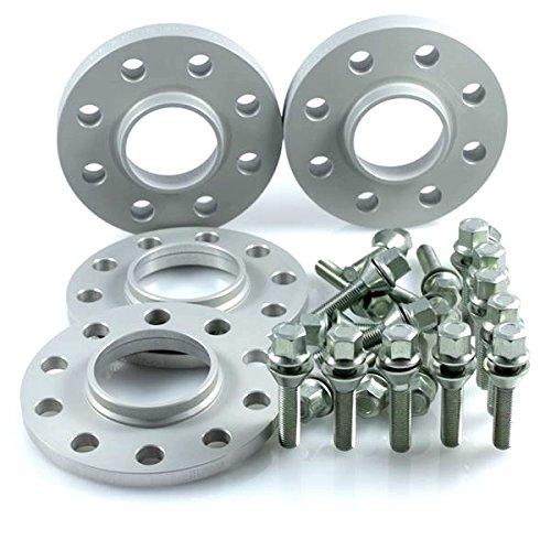 Preisvergleich Produktbild TuningHeads / H&R .0506223.DK.30264601-40264601.CLIO-B Spurverbreiterung,  VA 30 mm / HA 40 mm + Radschrauben