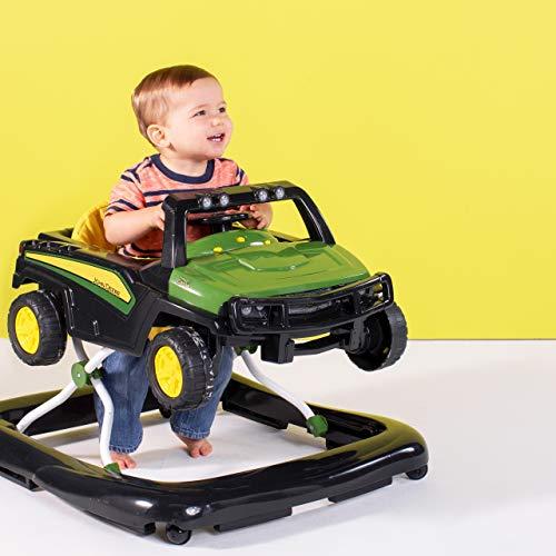 Bright Starts John Deere Gator 3 Ways to Play Walker, Ages 6 Months +