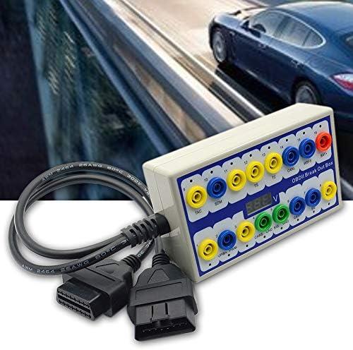 OBD 2 Breakout Box OBD 2 Protocol Detector Tester Auto Car Tools Diagnostic Connector Breakout product image