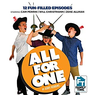 All for One!                   By:                                                                                                                                 Jerry Robbins                               Narrated by:                                                                                                                                 Jerry Robbins,                                                                                        Will Christmann,                                                                                        Cam Perrin,                   and others                 Length: 4 hrs and 58 mins     8 ratings     Overall 4.5