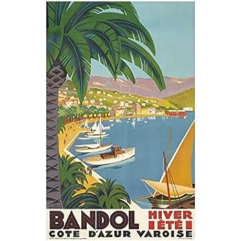 Affiche PLM Port de Bandol
