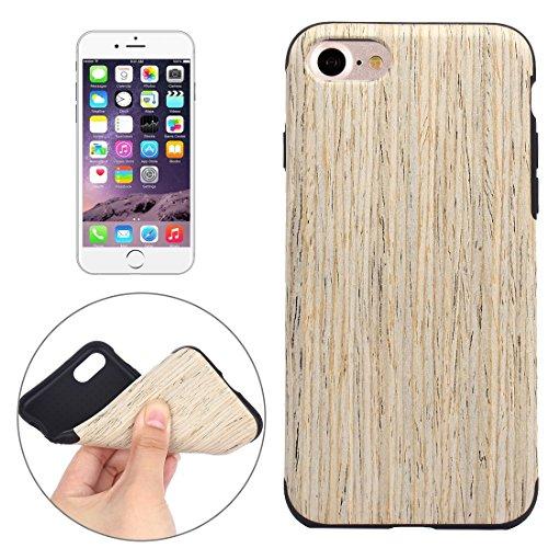 TONGTAIRUI-Cellphone Covers Schöne Fälle & Abdeckungen Für iPhone 7 Teak Holz Korn Paste Haut Soft TPU Schutzhülle Für iPhone (Artikelnummer : IP7G8000C)