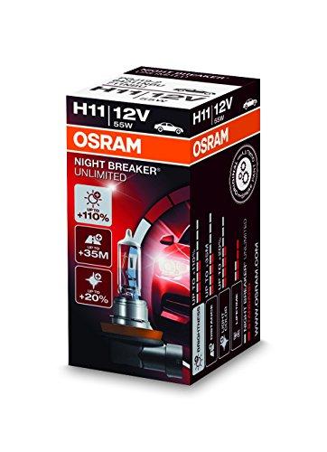 Preisvergleich Produktbild Osram NIGHT BREAKER UNLIMITED H11,  64211NBU,  12V,  1er Faltschachtel