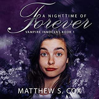 A Nighttime of Forever audiobook cover art