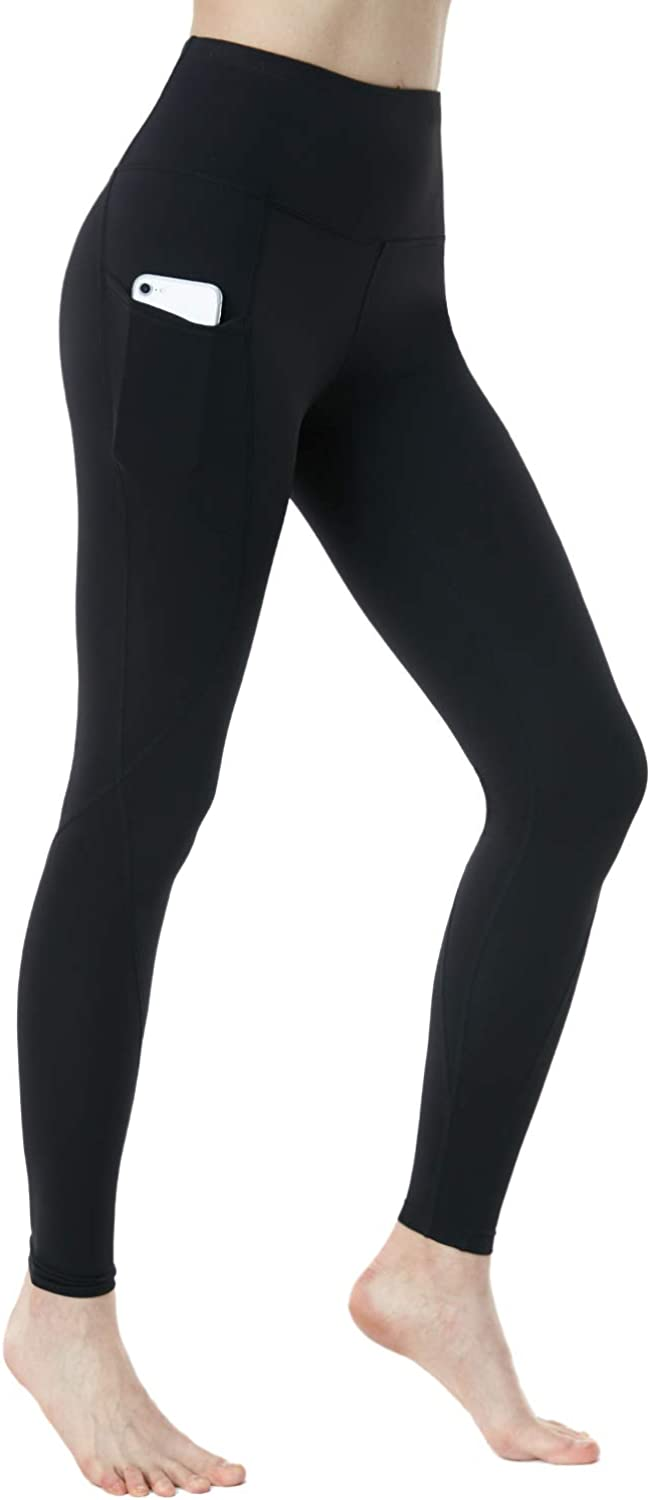 TSLA 1 or 2 Pack High Challenge the 5% OFF lowest price of Japan Waist with Contr Pockets Yoga Tummy Pants