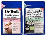 Dr Teal's Epsom Salt Bath Combo Pack (6 lbs Total),...