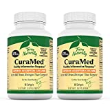 Terry Naturally CuraMed 375 mg (2 Pack) - 60 Softgels - Superior Absorption BCM-95 Curcumin Supplement, Promotes Healthy Inflammation Response - Non-GMO, Gluten-Free, Halal - 120 Servings