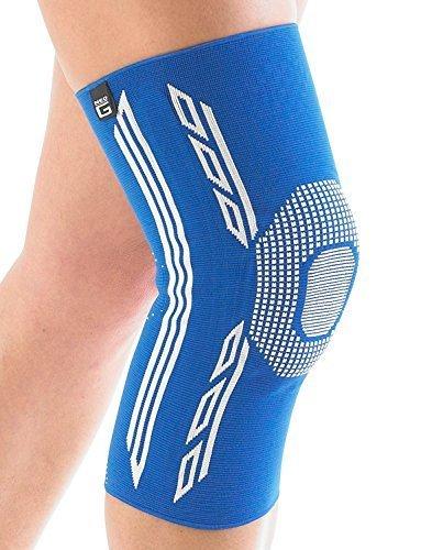 Neo G Airflow Plus Kniebandage–Medium–Blau–Medical Grade Qualität Ärmel, Multi Zone Kompression, leicht, atmungsaktive, Zerrungen, Verstauchungen, schwache & Arthritische Knie–Unisex Bandage