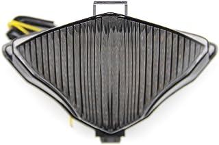 per Yamaha YZF R1 YZF-R1 YZFR1 2002-2003 NBX Fanale posteriore a LED per moto indicatori di direzione
