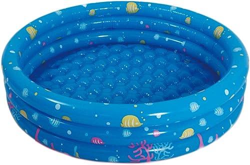 precios al por mayor MJ-Inflatable swimming pool Piscina para bebés Inflable Piscina Suave para para para Nadar 100 cm rojoondo (azul) + Bola oceánica  100  más orden