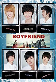 Maxis Boyfriend Korean Boy Band Kpop Wall Decoration Poster#002