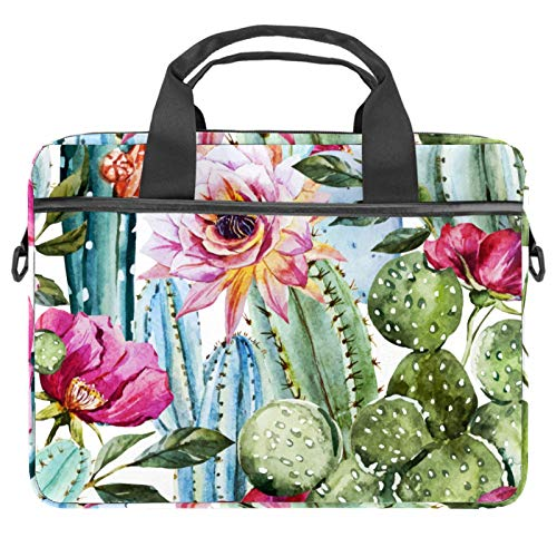 13.4'-14.5' Laptop Case Notebook Cover Business Daily Use or Travel Plant Cactus Flower