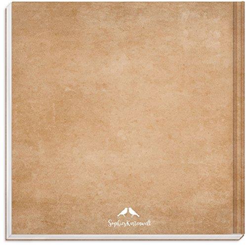 Hardcover Gästebuch mit weißen Seiten - 2