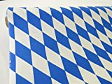 Unbekannt Bayern Stoff Baumwolle 150cm / 30mtr Rolle Mtr