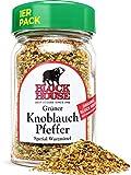 Block House Grüner Knoblauch Pfeffer 50g Gewürzmischung - im Glas in Restaurantqualität