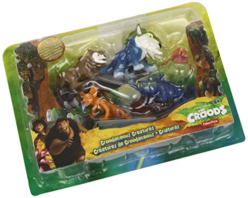 Fisher-Price DreamWorks The Croods: Croodaceous Creature Pack